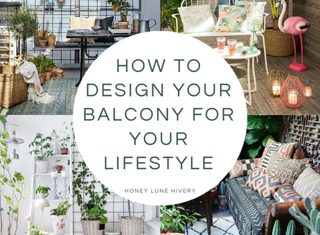 How to Design your Balcony for your Lifestyle
