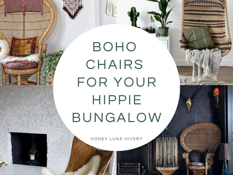 Boho Chairs for Your Hippie Bungalow