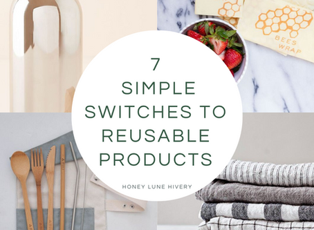 Seven Simple Switches to Reusable Products