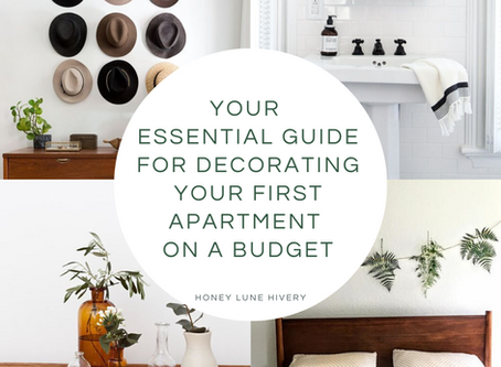 Your Essential Guide for Decorating your First Apartment on a Budget