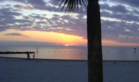 Fort Island Trail Beach @ Sunset