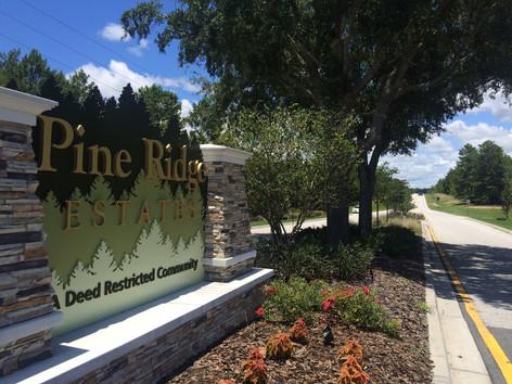 Beautiful Pine Ridge Estates