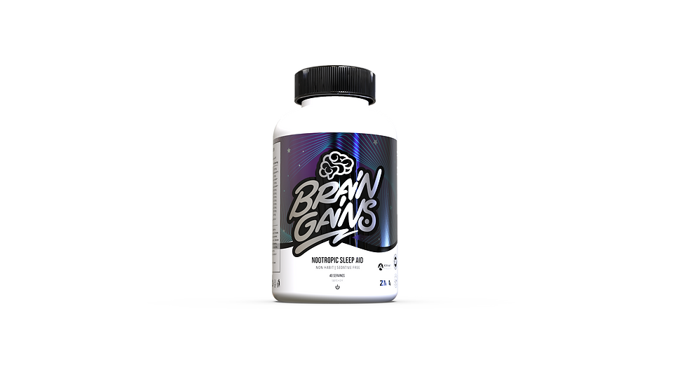 BRAINGAINS SWITCH-OFF NOOTROPIC SLEEP AID
