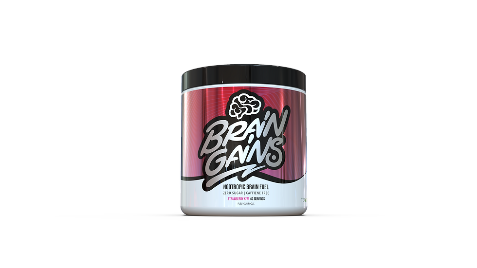BRAINGAINS SWITCH-ON NOOTROPIC BRAIN FUEL