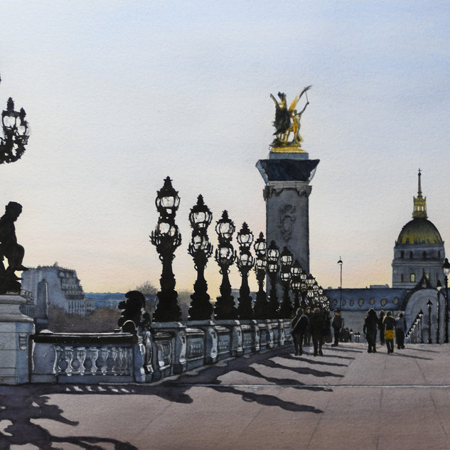 Paris: Pont Alexandre III