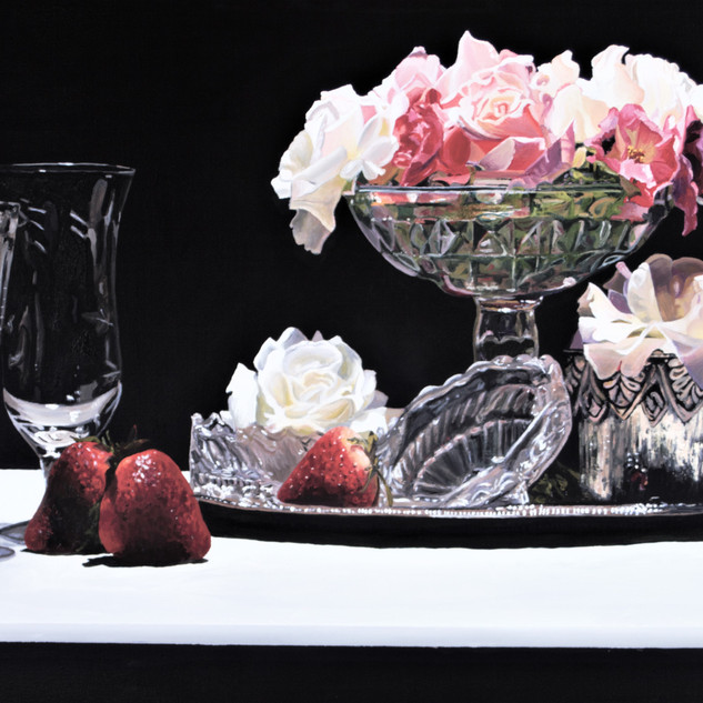 Flowers & Strawberries