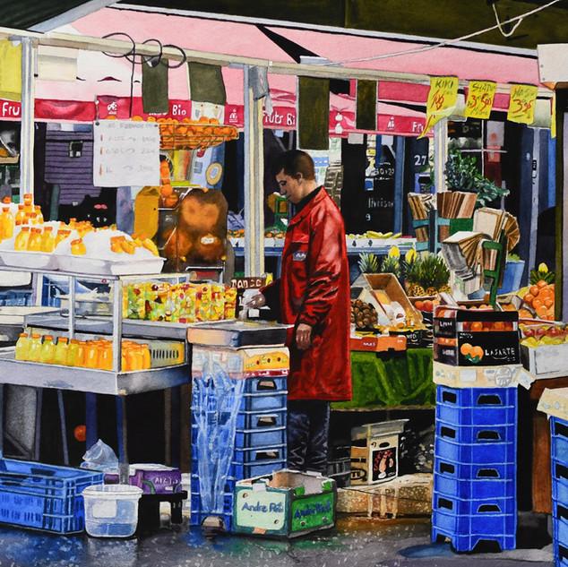 Paris: The Fruit Shop