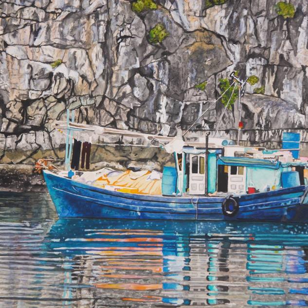 Blue Boat Halong Bay