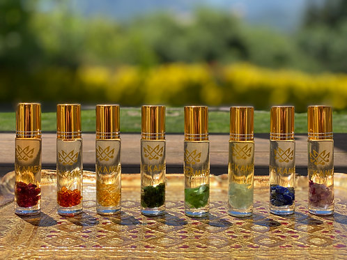 Gemstone Aromatherapy Oil Roller