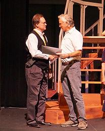 Alan Butt with Stan Miller