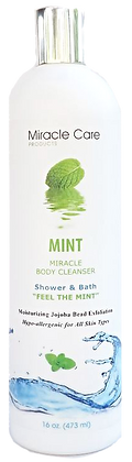 MIRACLE BODY CLEANSER MINT  16 oz