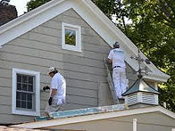 painting is often part of roof replacement jobs in Aurora after a storm