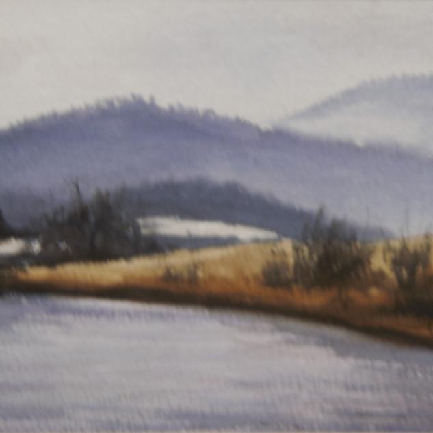 Blue Virginia Mountains