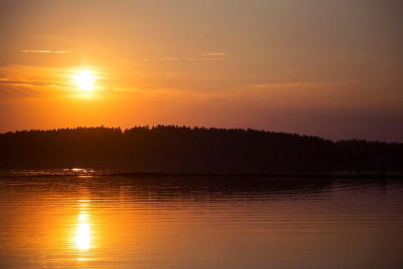 Harpswell Sunset