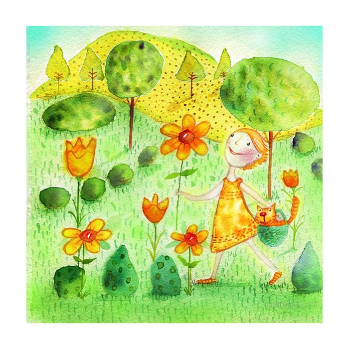 Garden Lucy