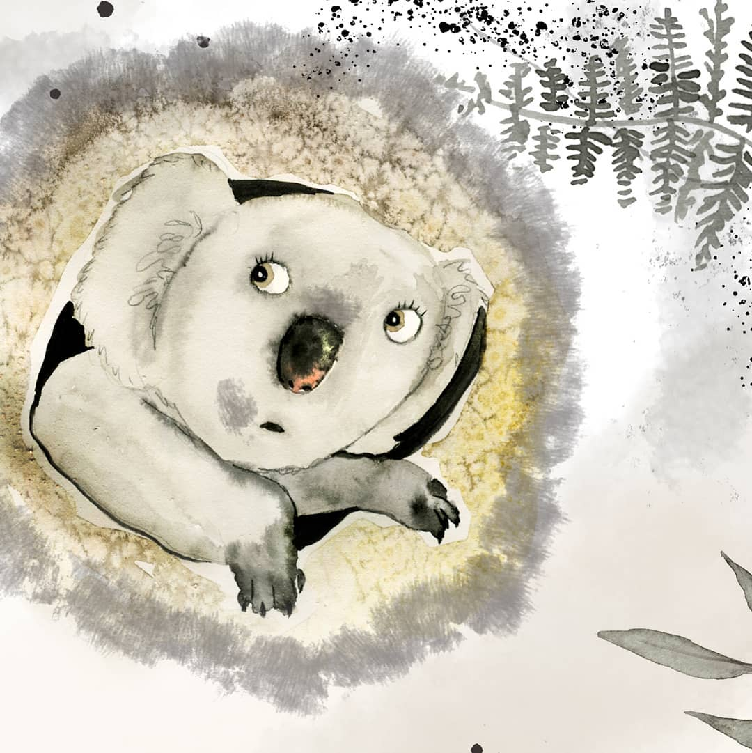 Illustration from Brave-Bottomed Wombat