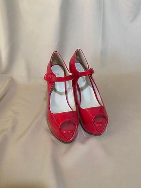 4 RED high heels