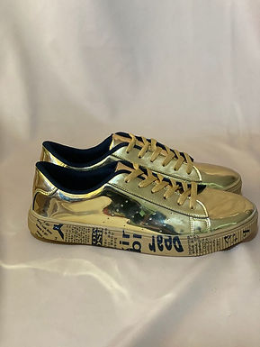 20 SNEAKERS GOLD