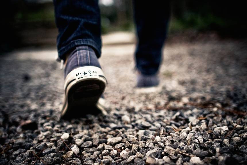 WALKING BY FAITH!
