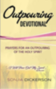 Outpouring Devotional - yellow   hands (