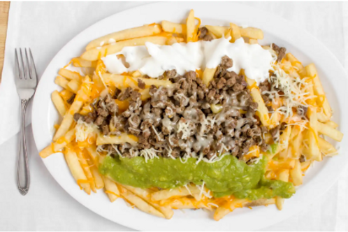 Carne as adapter fries