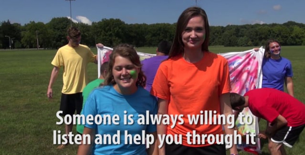 """A charity film to promote """"Freezone"""" at Purdue's Freshman orientation program. This video shows off the unified idea of inclusion and compassion coming out of the Purdue orientation program. My friends running the program for ~6000 students asked me to help create this video to be shown during the opening ceremonies of orientation week. My contributions include filming and producing the video."""