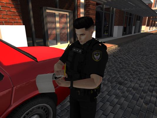 Brazen Agent Assassination on High Noon