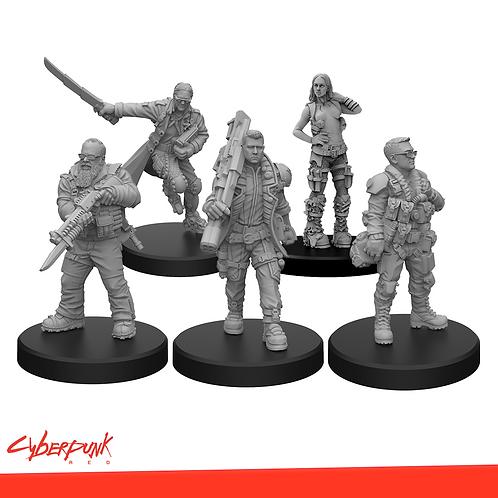 Cyberpunk RED - Team Monster Set