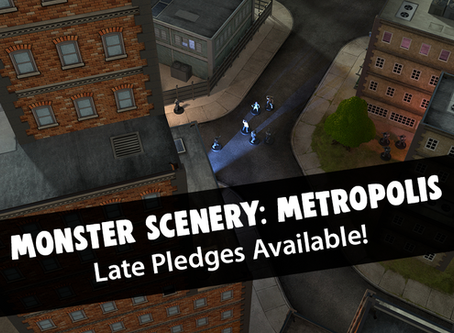 Monster scenery: Metropolis Pledge Manager is Live!