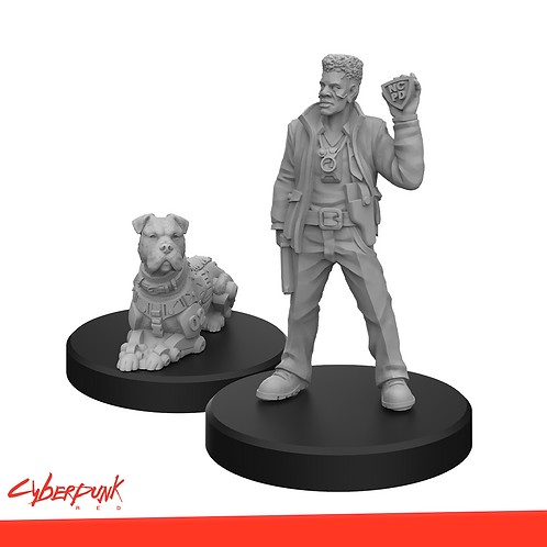 Cyberpunk RED - Maximum Mike & Mastiff Miniatures