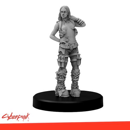 Cyberpunk RED - Nox Arya Miniature