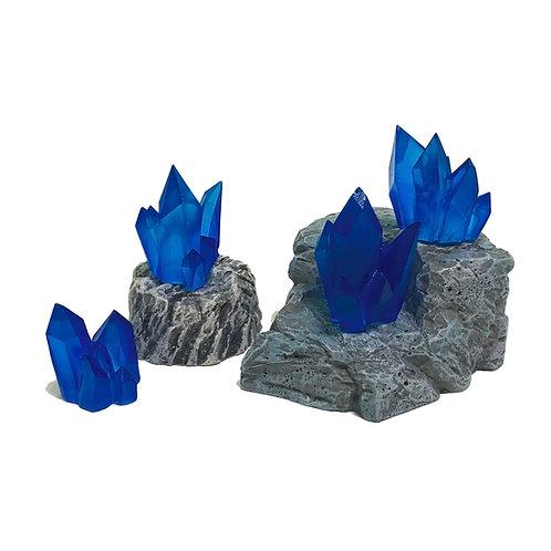 Crystal Nodes - Sapphire Blue