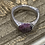 Thumbnail: Cuttlebone Cast Ring with Ruby