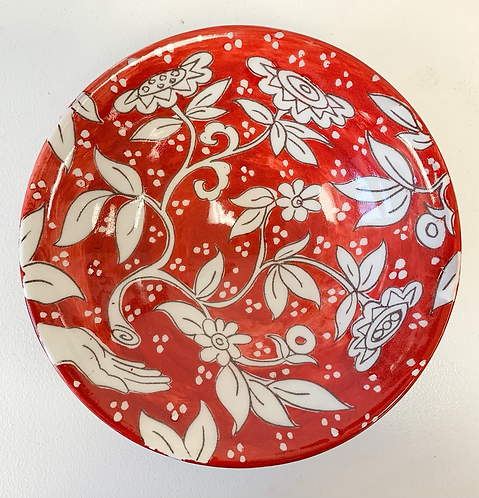 Red Tree of Life bowl