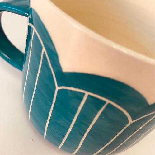 Turquoise Raincloud Mug
