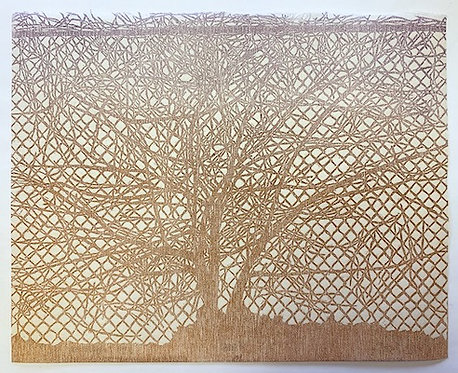 Woodcut Print 8x10