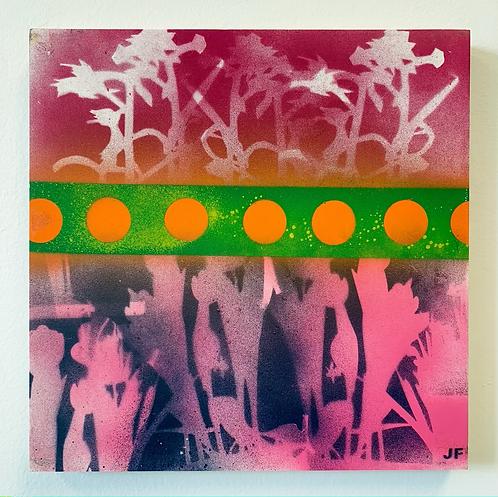 Flowers in the Field 10x10