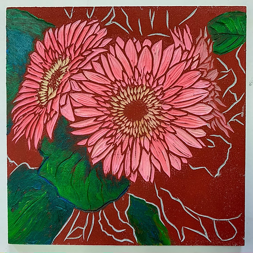 "6""x6"" Happy Little Painting"