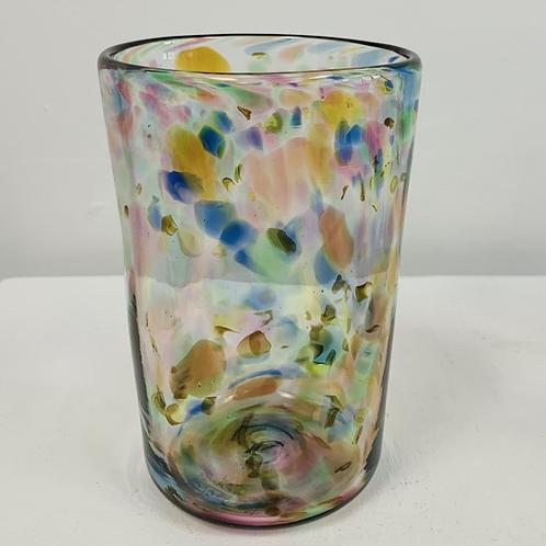Hand Blown Confetti Glass