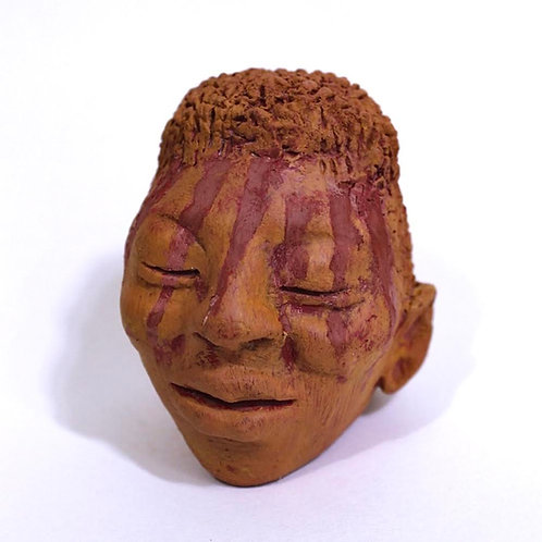 Sculptural head