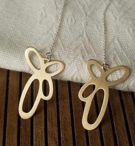 """""""Katie"""" Good threader earrings"""