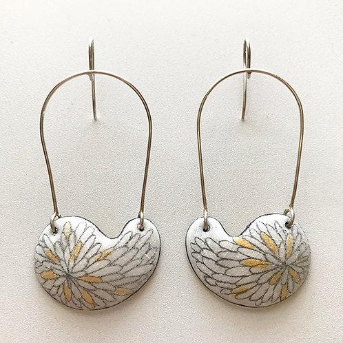 Kidney Bean earrings