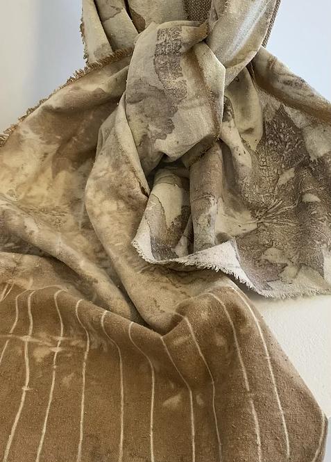 Noil - Raw Silk scarf