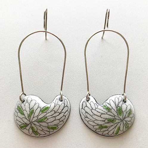 Kidney Bean earrings