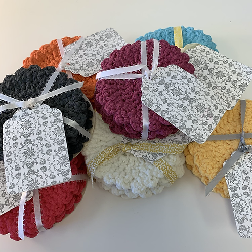 Rubber Doily Coasters
