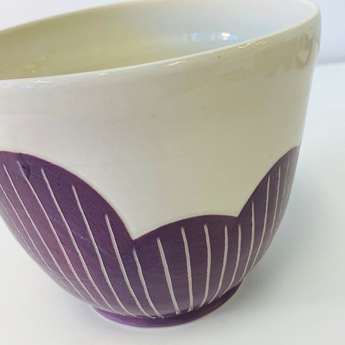 Cloud Vessel in Purple
