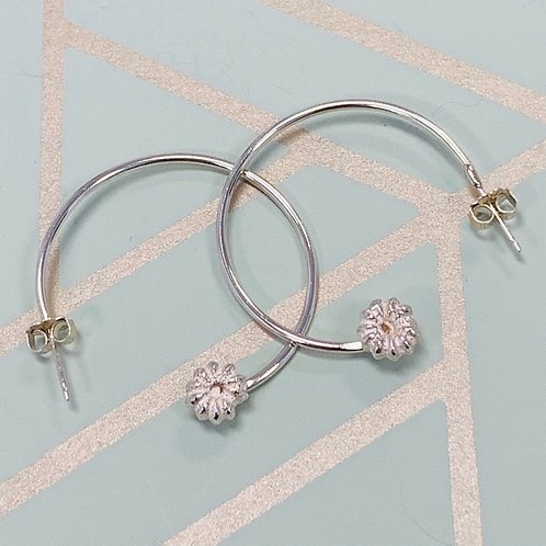 Poke Berry Hoop earrings, Lg