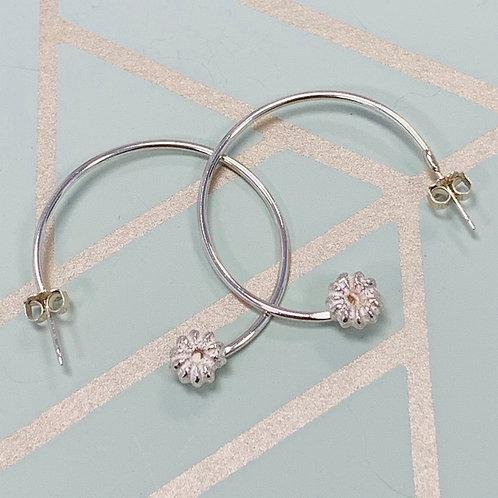 Copy of Poke Berry Hoop earrings, Sm