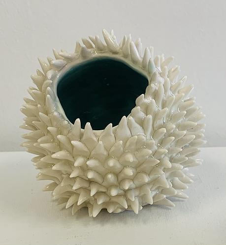 Porcelain ceramic sculpture