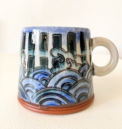 Mug with Flood and Window